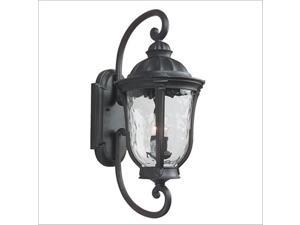 Craftmade Z6020-92 Frances Large Exterior Wall Mount Lantern in Oiled Bronze