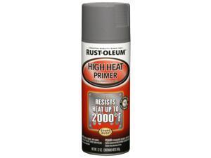 Rustoleum 249340 12 Oz Gray High Heat Primer Spray Paint