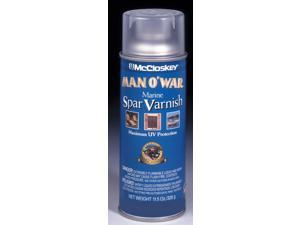 Valspar Brand 80-7555 SP 12 Oz Satin Spar Varnish Spray Paint - Pack of 6