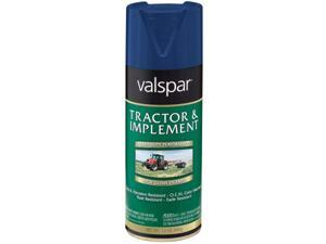 Valspar Brand 18-5339-12 SP 12 Oz Ford Blue Tractor & Implement Enamel Spray Pai - Pack of 6