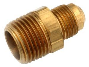 Anderson Metals 754048-0608 .38 in. X .5 in. Flare Adapter - Pack of 5