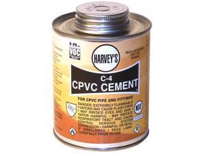 Wm Harvey Co 018710-24 .5 Pint Orange C-4 Regular Bodied CPVC Cement