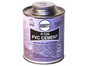 Wm Harvey Co 018260-24 8 Oz P-12G Heavy Bodied Gray PVC Cement