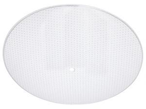 Westinghouse Lighting 8181900 13 in. Clear Dot Glass Round Light Diffuser - Case of 12