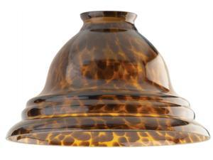 Westinghouse Lighting 8137500 2.25 in. Tortoise Pendant Glass Fitter - Pack of 4