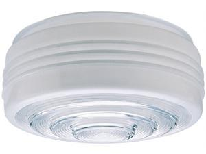 Westinghouse Lighting 8560800 8 in. White & Clear Glass Fitter - Pack of 6