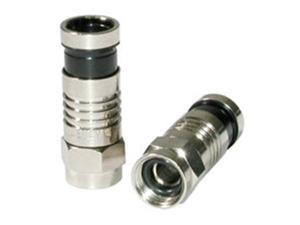 C2G - C2G Compression F-Type Connector with O-RING for RG6