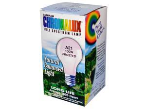 Chromalux 0707406 Light Bulb Frosted-100W - 1 Bulb