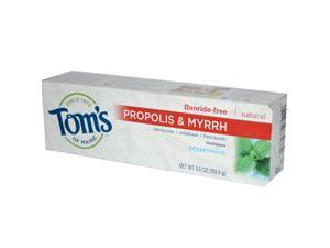 Toms Of Maine 0779868 Propolis and Myrrh Toothpaste Peppermint - 5.5 oz