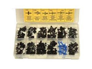 W and E Sales WEPD121 Plastic Drive and Rivet Screw Fastener Assortment