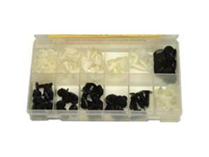 W and E Sales WEPD122 Plastic Button and Christmas Tree and Screw Assortment