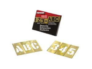 "2"" 77PC LETTER & NUMBERSET"