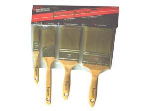 Gam Paint Brushes Perfect Painter 4 Piece Paint Brush Set BP01144