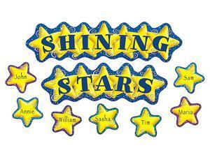 Teacher Created Resources 4780 Shining Stars Mini Bulletin Board