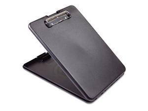 Saunders 00558 SlimMate Storage Clipboard, .5 in. Capacity, Holds 8 .5w x 12h, Black