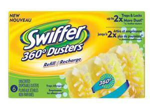Proctor & Gamble 16944 6CT Swiffer 360 Duster Refills - 6 Ct. Unscented - Pack of 6