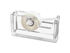 Kantek KTKAD60 Tape Dispenser, Acrylic, 2 in. W x 3 in. D x 6 in. H, Clear