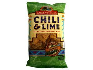 Garden Of Eatin Chili and Lime Tortilla Chips, 9 oz, - Pack of 12