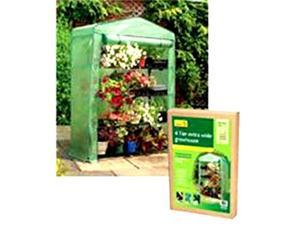 Gardman- Usa 507722 4 Tier Extra Wide Greenhouse