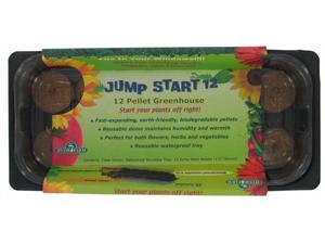 Hydrofarm JS12GH 12 Pellet Jumpstart Greenhouse - Case of 24