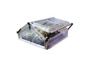 "Palram HG3300 3"" x 3"" Greenhouse Double Cold Frame"