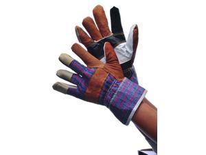 Bulk Buys Multi Color Leather Work Gloves - Case of 120