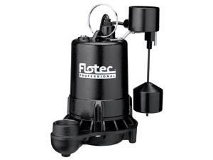Pentair E75VLT .75 HP Cast Iron Professional Series Submersible Sump Pump
