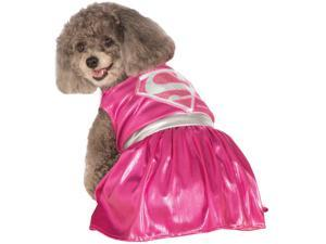 Costumes for all Occasions RU887839SM Pet Costume Pink Supergirl Sm