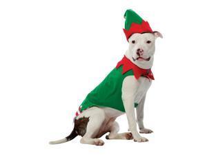 Rasta Imposta 5028-XXXL Elf Dog Costume XXX-Large - Red-Green
