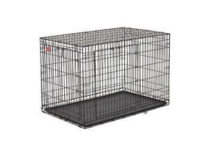 Midwest ACE-418DD Life Stage A.C.E. Double Door Crate 18 in. x 12 in. x 14 in.