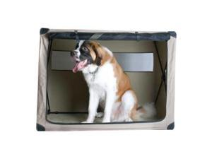 ABO Gear 10500 26 in. x 17 in. x 21 in. Medium Dog Digs Patented Fully Collapsible Travel Crate