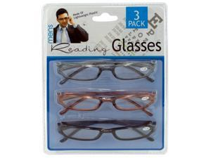 Men & number 039&#59; s reading glasses - Pack of 4