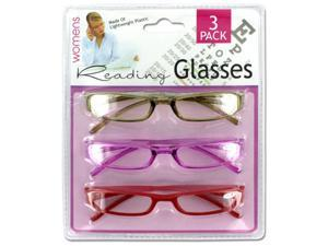 Womens reading glasses - Pack of 4