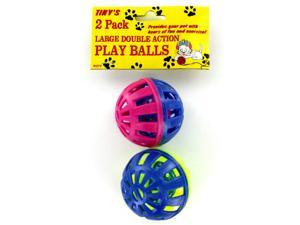 2 Pack cat play balls - Case of 96