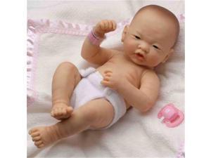 Dolls By Berenguer 18509 La Newborn Asian Real Girl Doll - Size 14 Inch