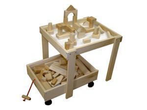 Beka 06102 Wooden Storage Cart for upper 3 years