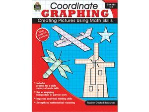 Teacher Created Resources 2115 Coordinate Graphing