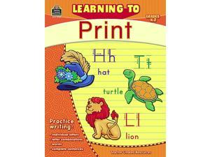 Teacher Created Resources 2769 Learning to Print Grade K-2