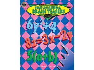 Teacher Created Resources 2039 Pre-Algebra Brain Teasers