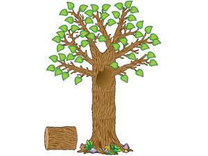 Teacher Created Resources 4405 Seasonal Tree Bulletin Board Display Set