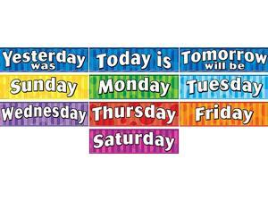 Teacher Created Resources 4491 Days of the Week Headliners