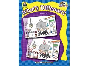 Teacher Created Resources 5908 Start to Finish Whats Different Grade 5-6