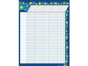 Teacher Created Resources 7672 Starry Night Incentive Chart
