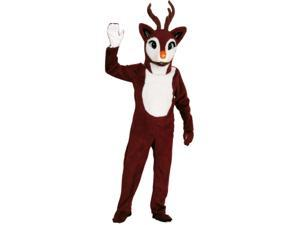 Rubies Costumes 157228 Reindeer Adult Mascot Size: One-Size