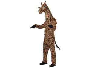 Rasta Imposta 213537 Giraffe Adult Costume - Brown & Tan - One-Size - Standard