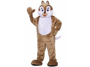 Forum Novelties 214476 Chipmunk Deluxe Mascot Adult Costume - Brown - Standard