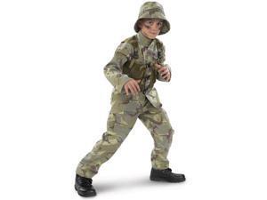 Costumes 156298 Delta Force Child Costume Size: Small (4-6)