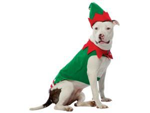 Rasta Imposta 213531 Elf Pet Costume - Red & Green - Large