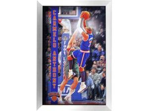 Steiner Sports ANTHPHA020000 Steiner Sports Carmelo Anthony New York Knicks 3D Pop Out Framed 20x32 Collage