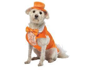 Rasta Imposta 4926-XXL Dumb and Dumber Lloyd Tux Dog XXLg - Orange